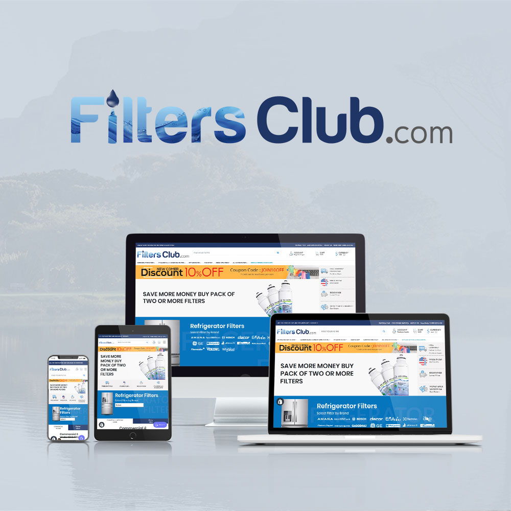 The Filters Club Website development